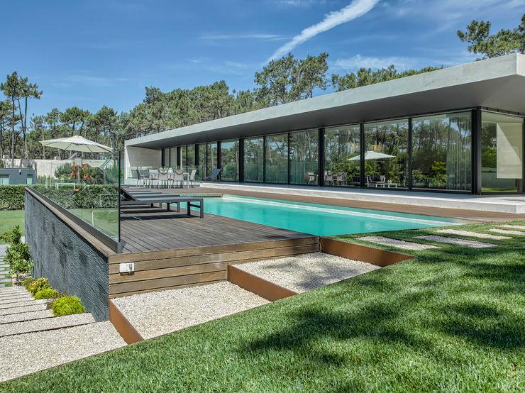 AM 2014 - Fão INAIN Interior Design Casas modernas