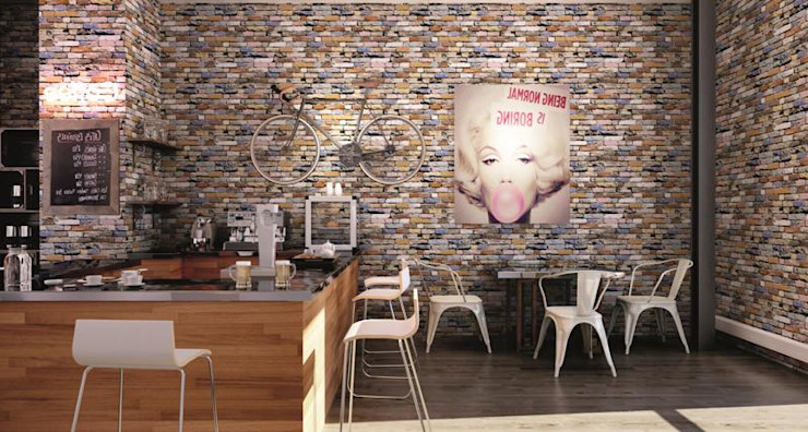 INTERAZULEJO Rustic style walls & floors