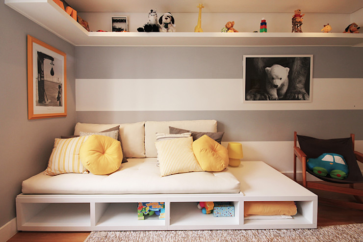 Apartamento Moema Officina44 Quarto infantil moderno