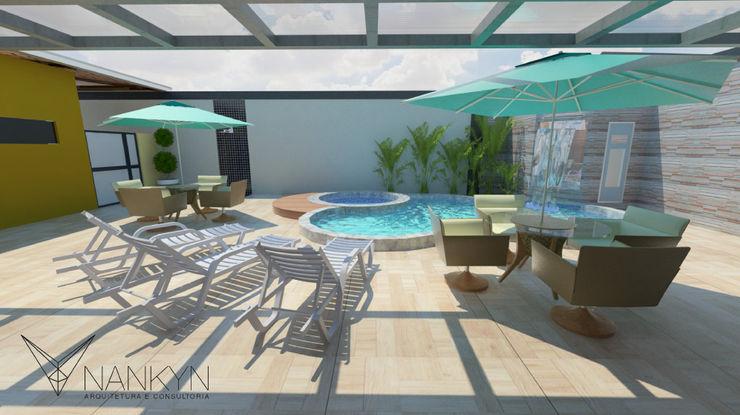 Nankyn Arquitetura & Consultoria Moderne zwembaden
