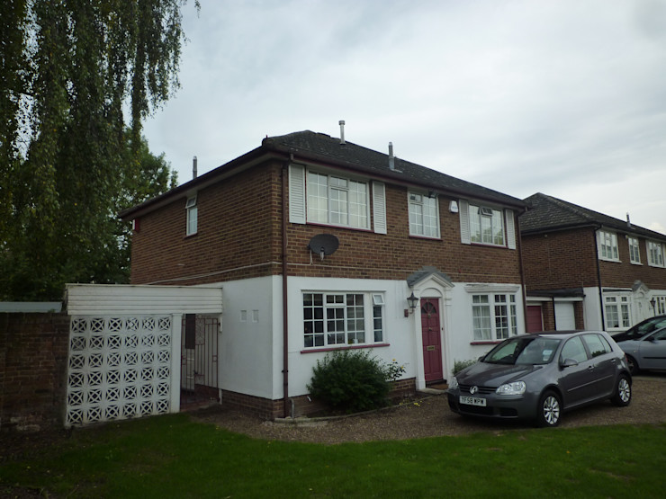 Front Elevation - Before Arc 3 Architects & Chartered Surveyors