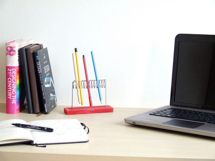 HR Design Studio BureauBibliothèques Fer / Acier Multicolore