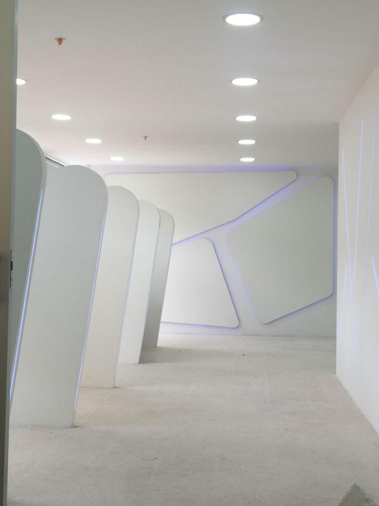 Felipe Lara & Cía Офіси та магазини Синтетичні Білий