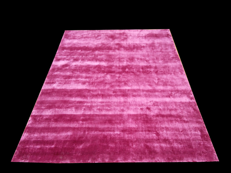 viscose silk Rug Classic Rugs Dining roomAccessories & decoration Silk Pink