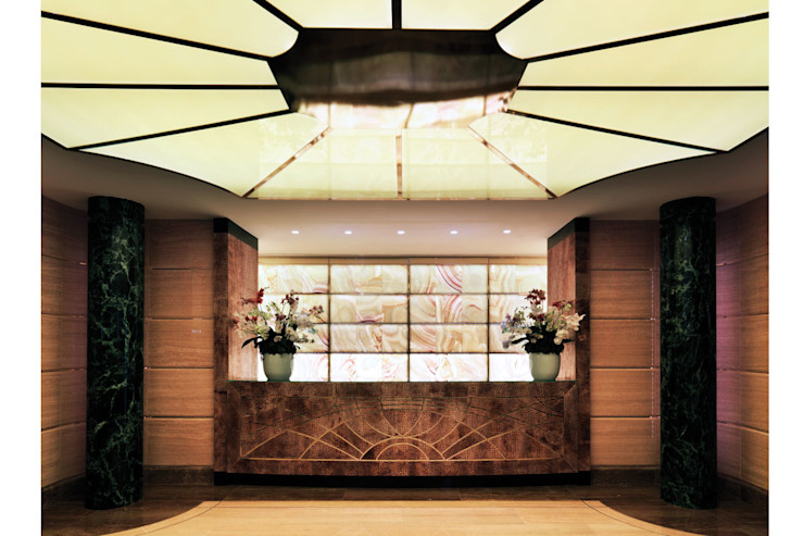 Spagnulo & Partners Eclectic style hotels Marble