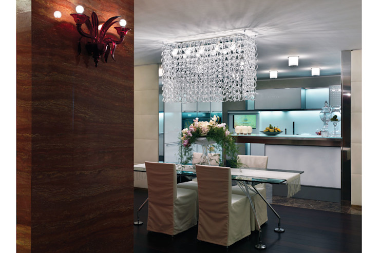 Spagnulo & Partners Eclectic style hotels Glass