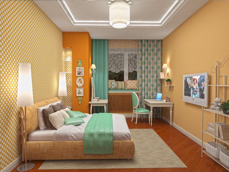 Alena Gorskaya Design Studio Nursery/kid's room Multicolored