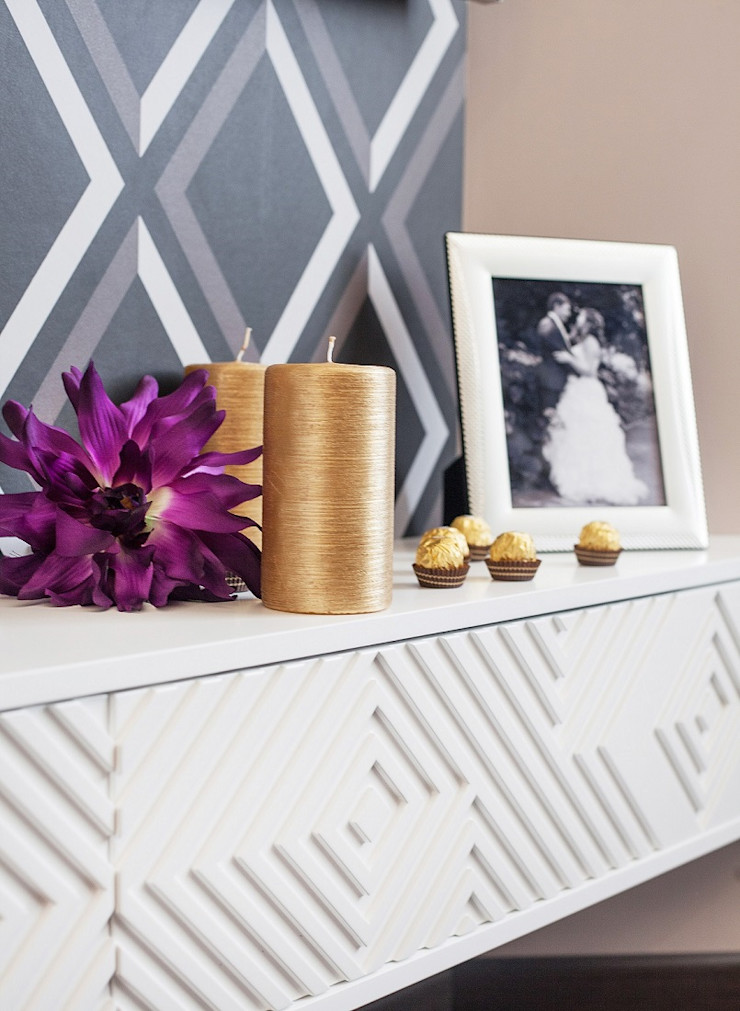 Alena Gorskaya Design Studio Minimalist bedroom