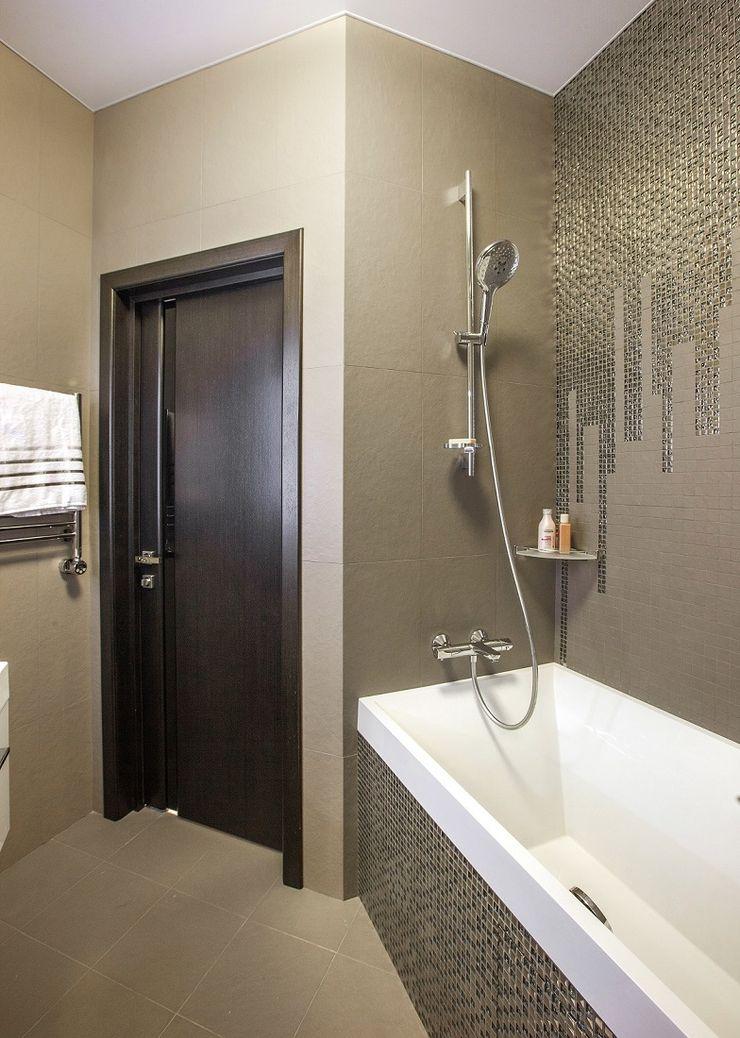 Alena Gorskaya Design Studio Minimalist style bathrooms