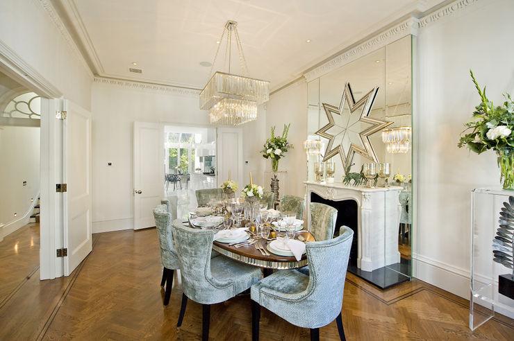 Dining room at the Chester Street House Nash Baker Architects Ltd Comedores de estilo clásico