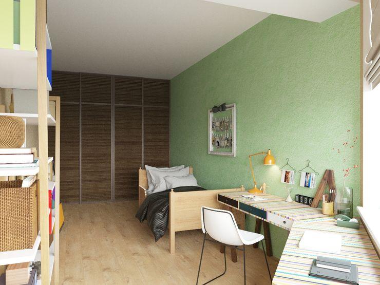 Tatiana Zaitseva Design Studio 인더스트리얼 아이방