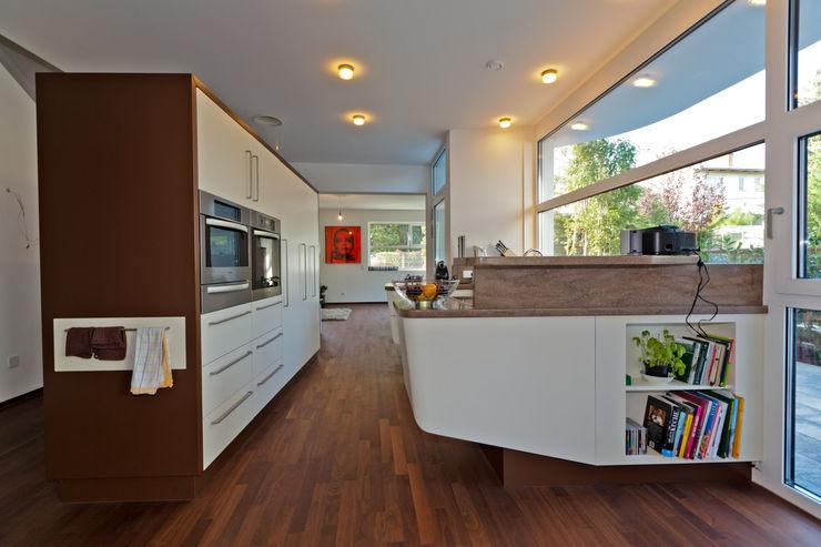 wohnhaus hietzing Atelier Fürtner-Tonn Moderne Küchen