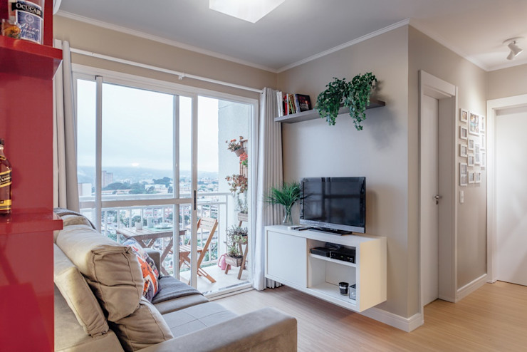 Ambientta Arquitetura Modern Living Room