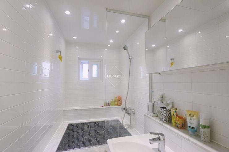 홍예디자인 Scandinavian style bathroom