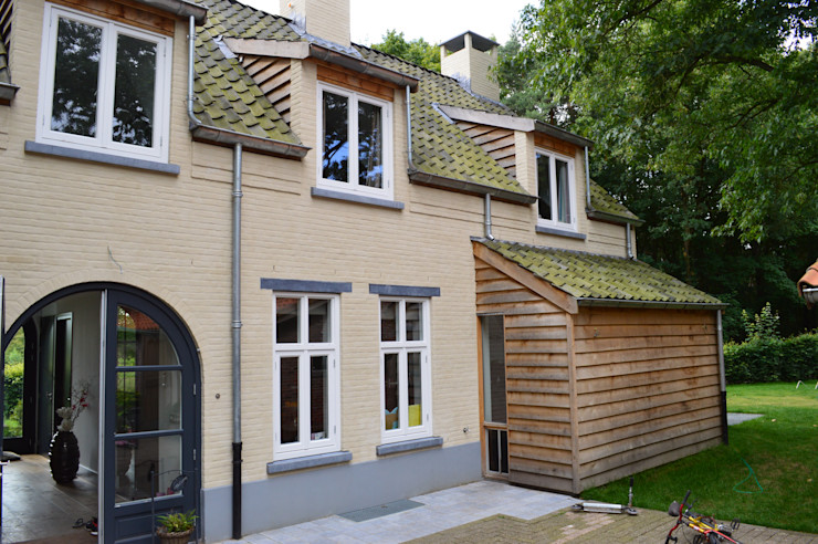 STROOM architecten Country style house