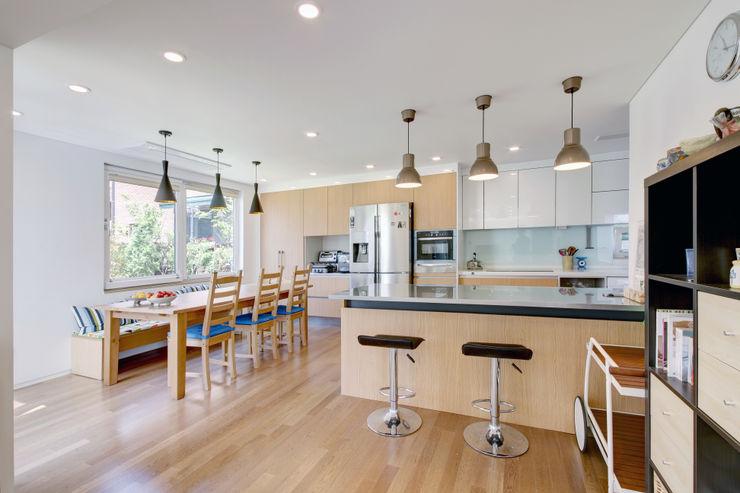 mlnp architects Comedores de estilo moderno