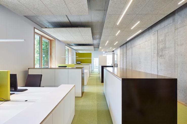 Open Office DOMANI INTERIOR. Möbel. Art. aus Freiburg Minimalistische Bürogebäude