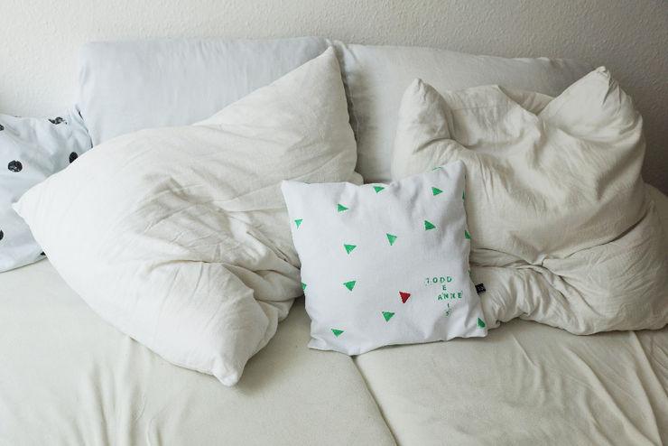 LeBoer 침실직물 면 화이트