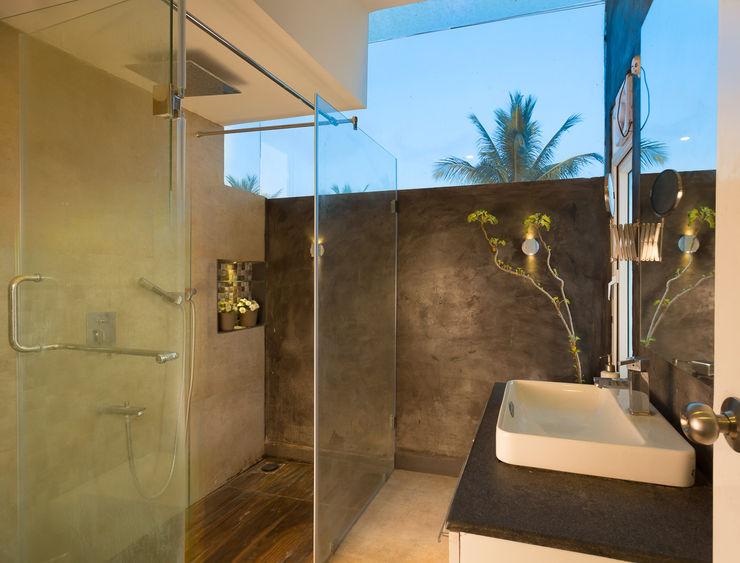 Ink Architecture Ванная комната в стиле модерн