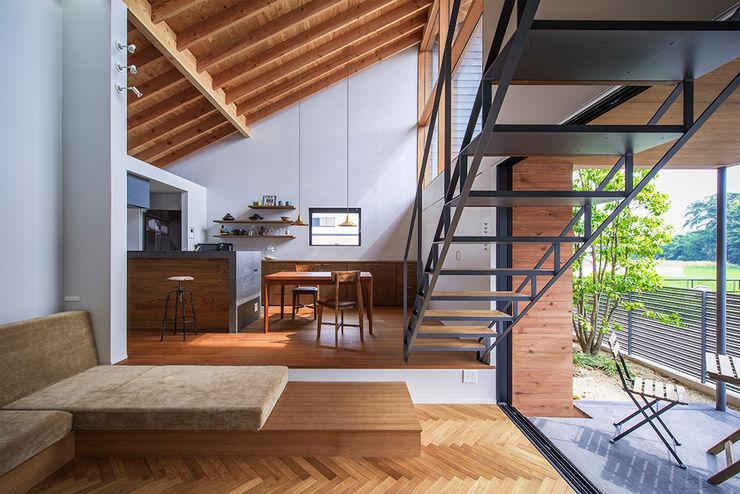和泉の家 nobuyoshi hayashi オリジナルデザインの リビング