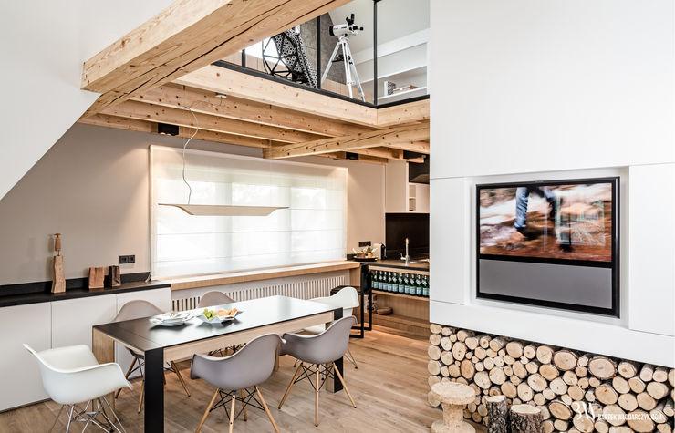 Bartek Włodarczyk Architekt Moderne Wohnzimmer