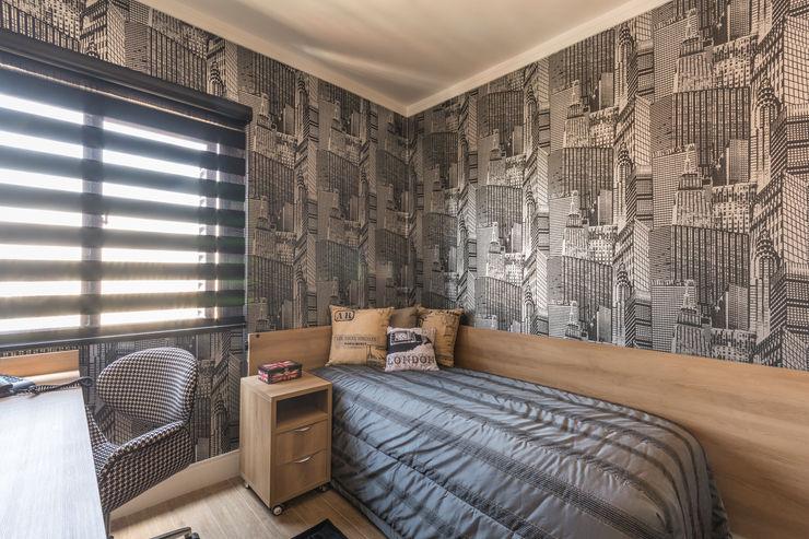 Lo. interiores Спальня