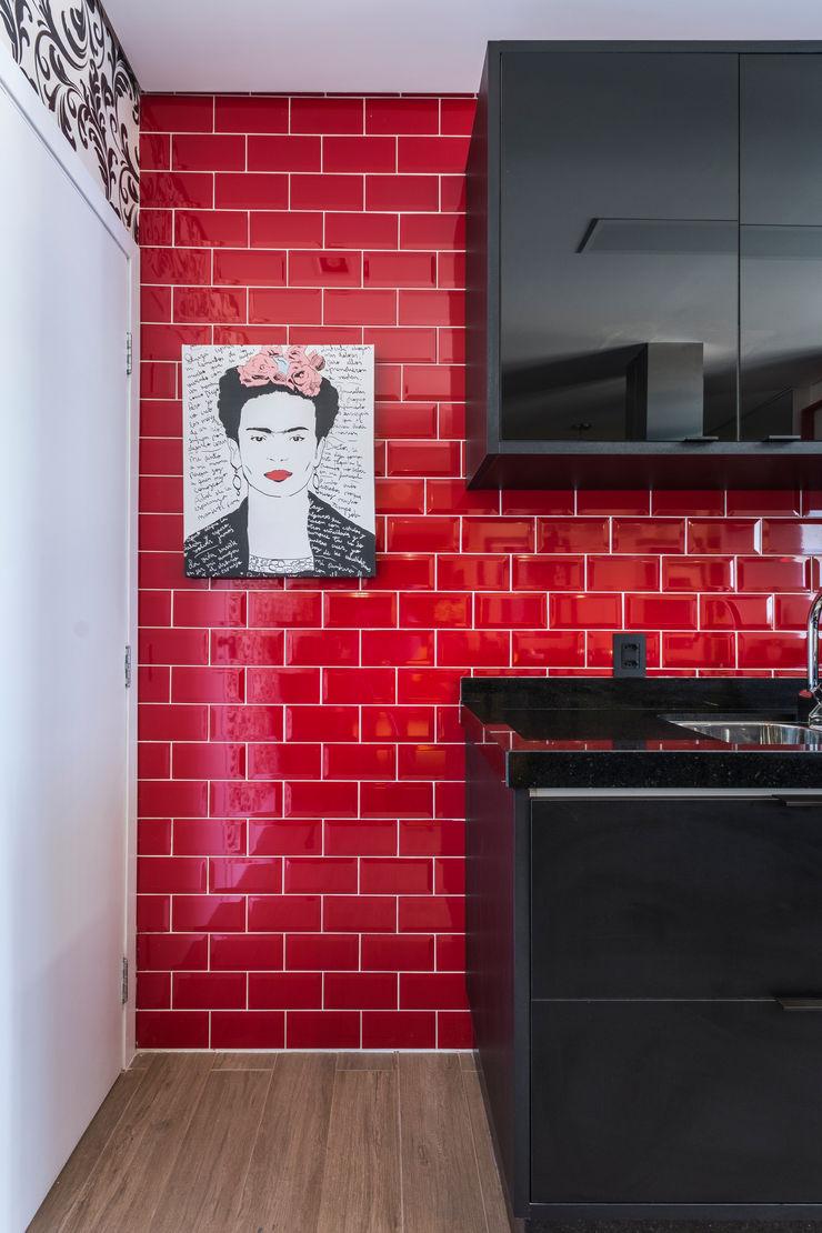 Lo. interiores Кухня