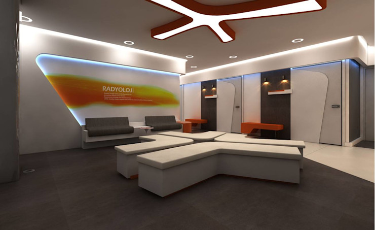 İzmir Özel Park Tıp Merkezi VERO CONCEPT MİMARLIK Modern Hastaneler