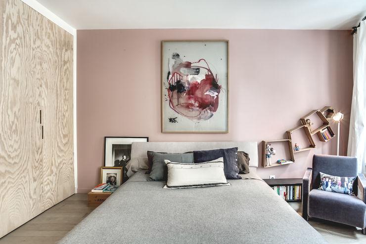 cristina velani Dormitorios de estilo escandinavo