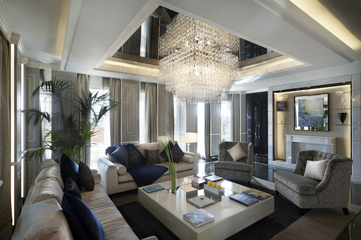 Progetto Spagnulo & Partners Modern living room