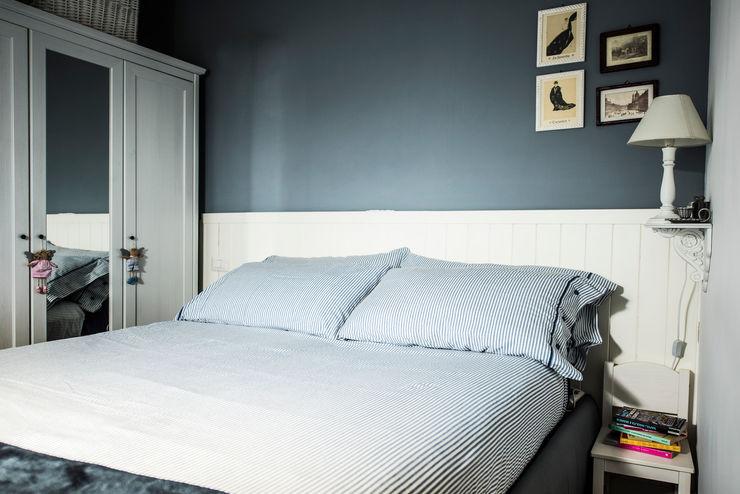 Appartamento Napoli Giuliana Andretta Architetto Camera da letto moderna
