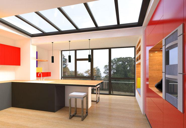 Metaforma Architettura Moderne keukens