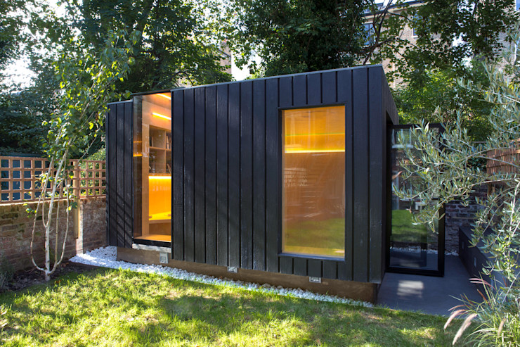 Shadow Shed Neil Dusheiko Architects منازل