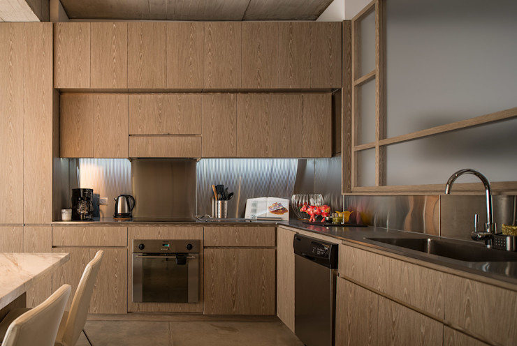 MEMA Arquitectos Moderne Küchen