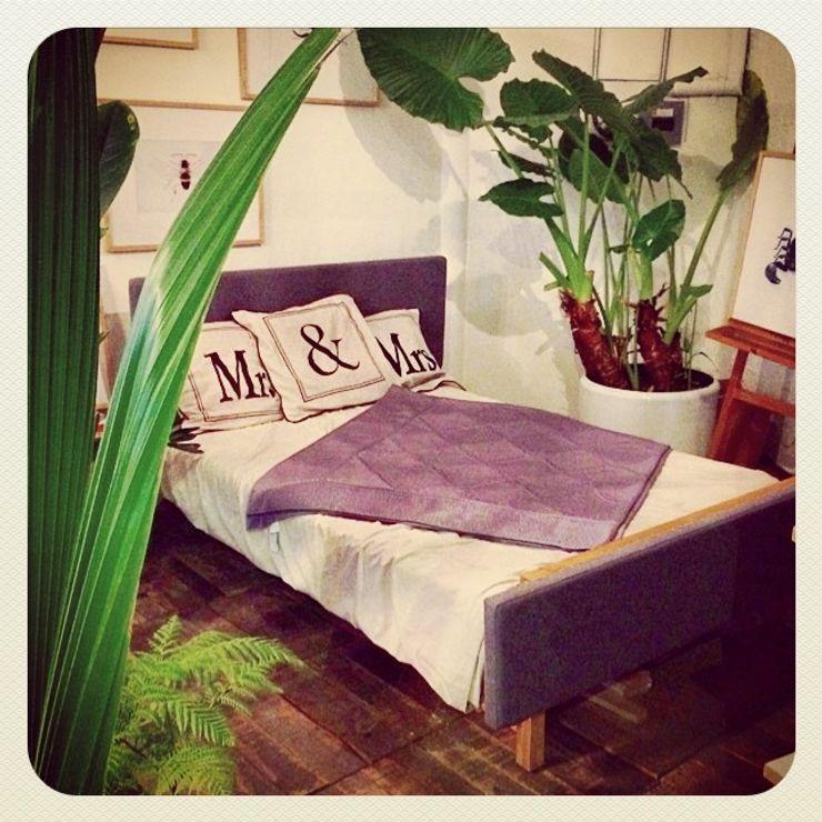 RECAMARA Clorofilia Dormitorios de estilo tropical Madera maciza