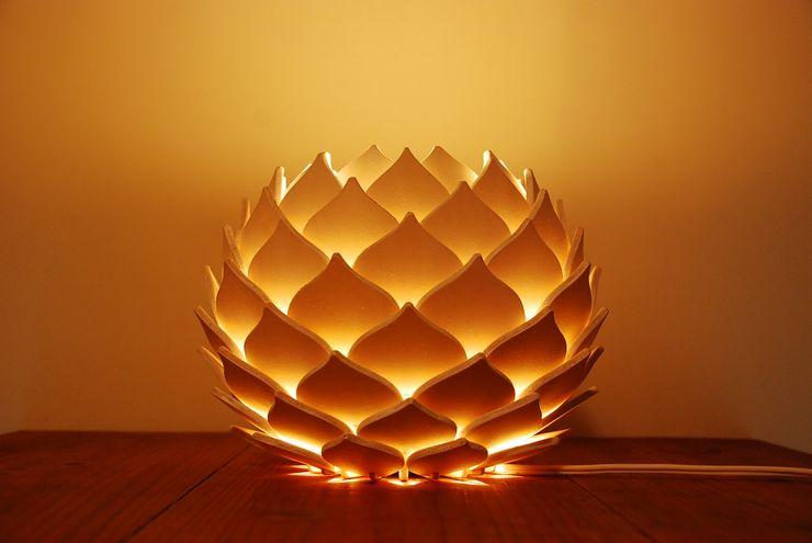 NTH 木製ランプシェード スタンドライト ナカオランプ 寝室照明 合板(ベニヤ板) 白色