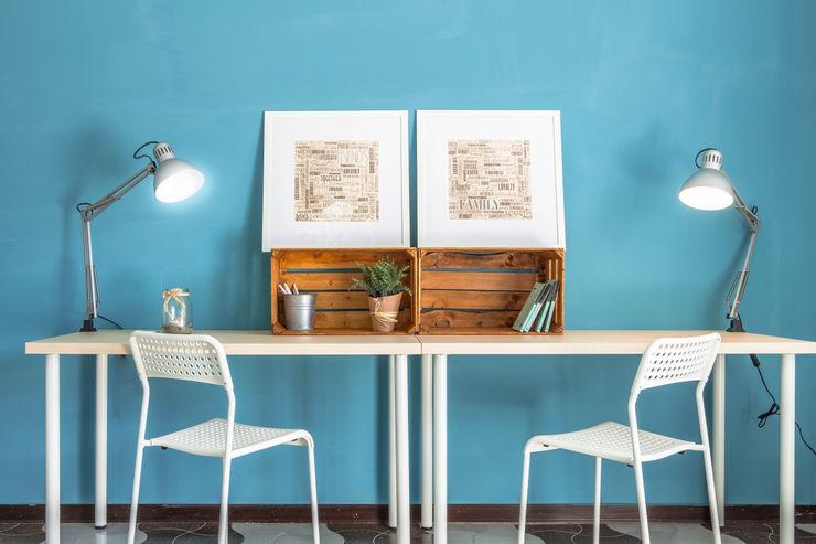 Progetto Erina Home Staging モダンデザインの 書斎