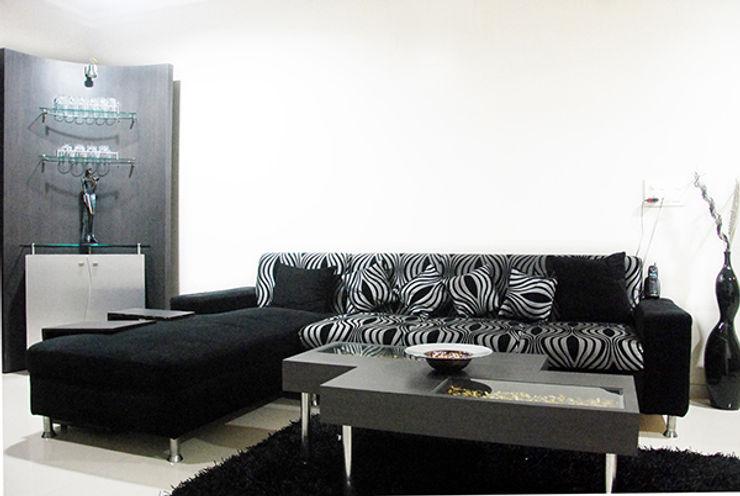 Sneha Samtani I Interior Design. Salas de estilo moderno