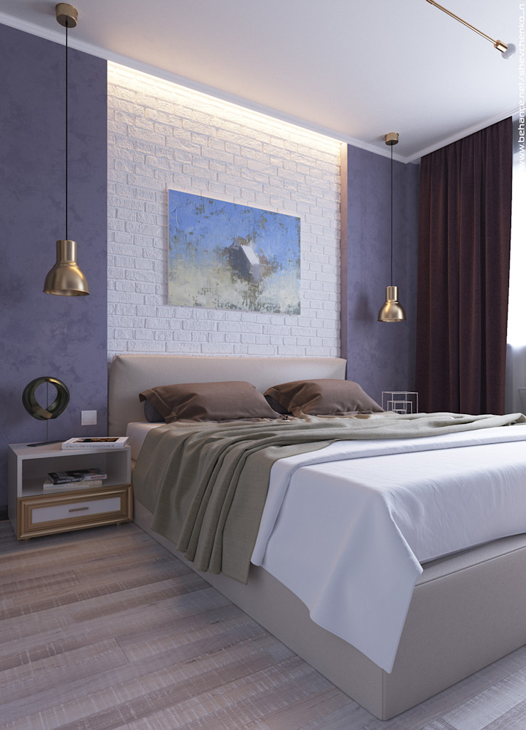 Shevchenko_Nikolay Modern Yatak Odası