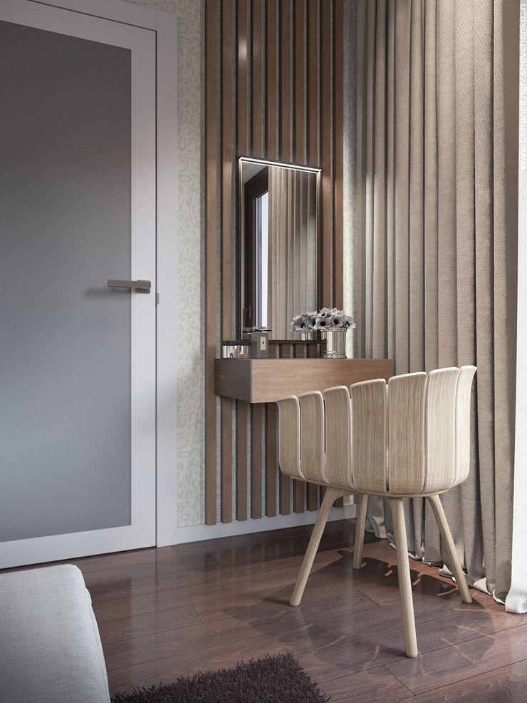 Shevchenko_Nikolay Modern style bedroom