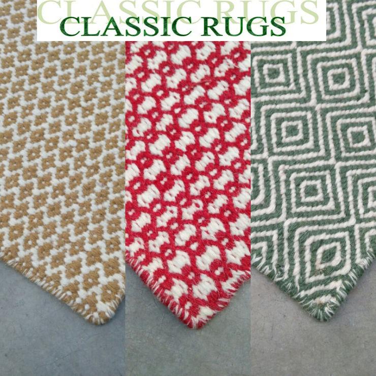 woollen fleatweave Classic Rugs Walls & flooringCarpets & rugs