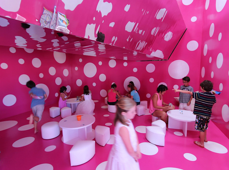 A2arquitectos Commercial Spaces Pink