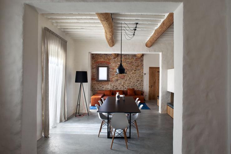 MIDE architetti Salon rustique