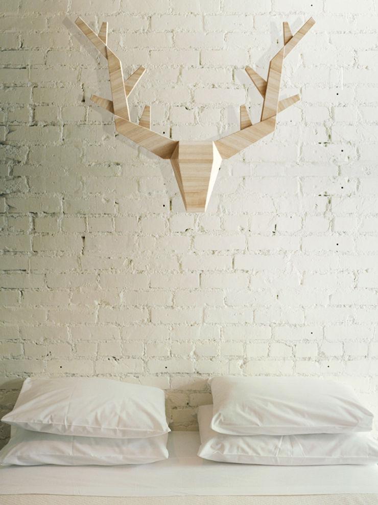 Iwona Kosicka Design 牆壁與地板牆壁裝飾 木頭