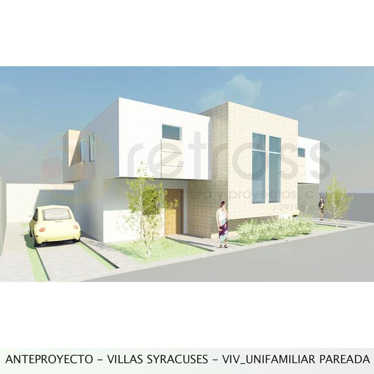 retross arquitectura y proyectos Будинки