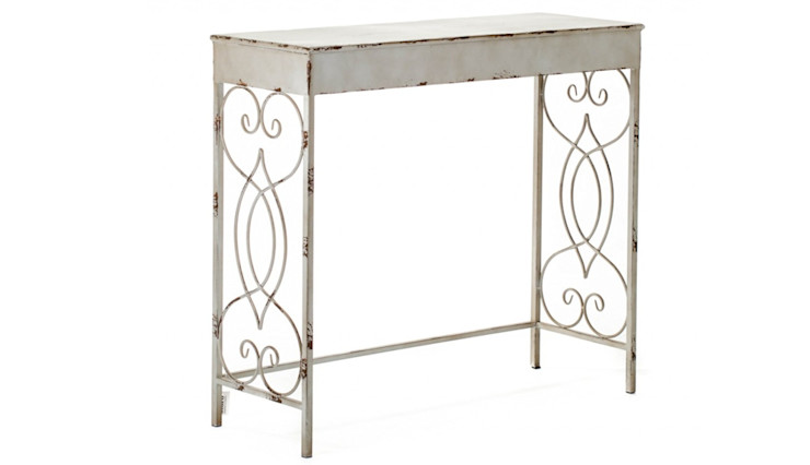 CONSOLE ALURO BERTONI Altavola Design Sp. z o.o. Corridor, hallway & stairs Drawers & shelves Metal
