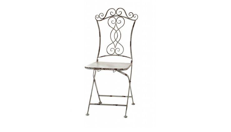 CHAIR ALURO BERTONI Altavola Design Sp. z o.o. Balconies, verandas & terraces Furniture Metal