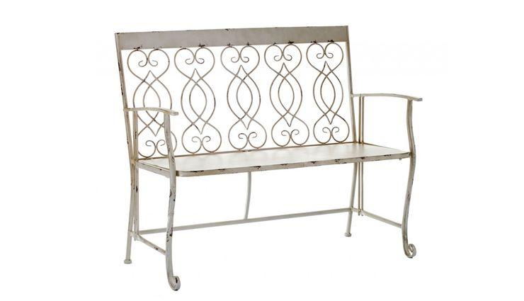 BENCH ALURO BERTONI Altavola Design Sp. z o.o. Balconies, verandas & terraces Furniture Metal