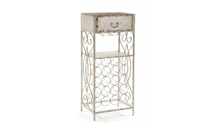 CABINET ALURO BERTONI Altavola Design Sp. z o.o. Living roomSide tables & trays Metal