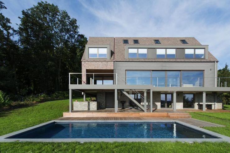 BURO5 - architectes & associés Rumah Modern